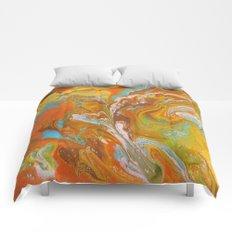 Orange Fizz Comforters