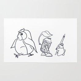 Star Ghibli Wars: Mashup Drawing Rug