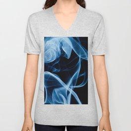 Blue Smoke Unisex V-Neck