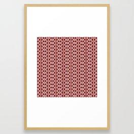 """""""Komochiyoshiwara"""" Japanese traditional pattern Framed Art Print"""