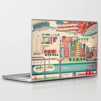 ukraine Laptop & iPad Skins featuring Dnipropetrovsk City, Ukraine by Oleksiy Pyliov