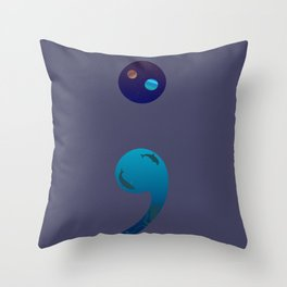 Our Story Isn't Over Throw Pillow
