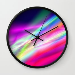 Love on the Weekend Wall Clock