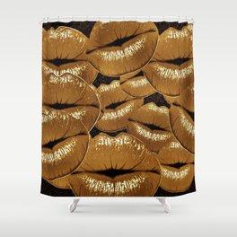 KISS ME TWICE Shower Curtain