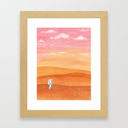 Olympus Mons Framed Art Print