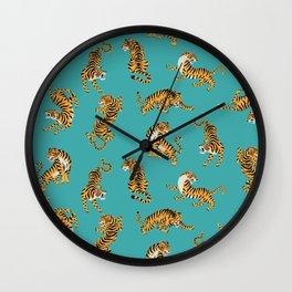Bengal tigers Wall Clock