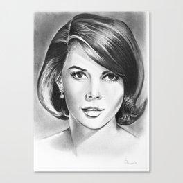 Natalie Wood Canvas Print