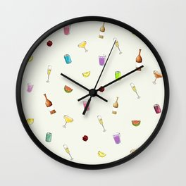 Summer vibes Wall Clock