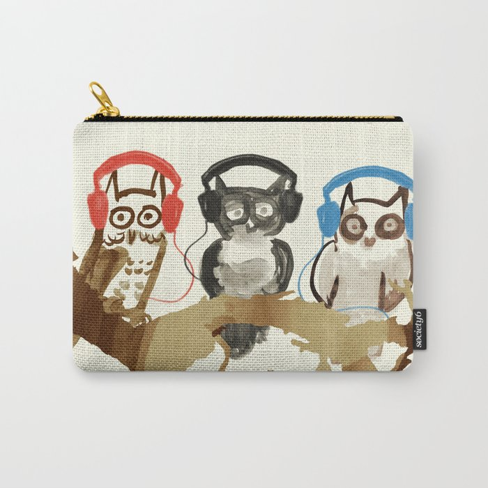 Forest Beats Carry-All Pouch