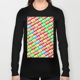 Mix-taped Long Sleeve T-shirt