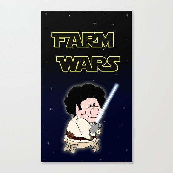 Farm Wars - Luke edition Canvas Print
