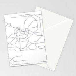 Seoul Subway Stationery Cards