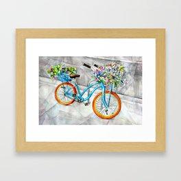 Cheerful Ride Framed Art Print
