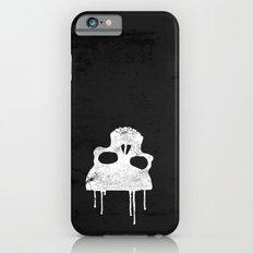 GRUNGE BACKGROUND WITH SKULL Slim Case iPhone 6s