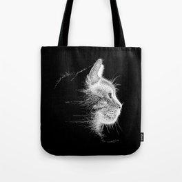 Mocha, the cat - Longing.......? Tote Bag