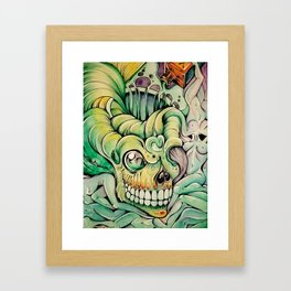 Deadly Delirium Framed Art Print