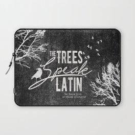 The Trees Speak Latin - Raven Boys Laptop Sleeve