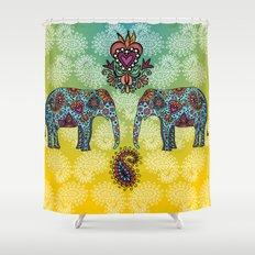 elefantes Shower Curtain