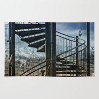 berlin Area & Throw Rugs featuring berlin by lucyliu