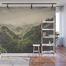 The Valley Wall Mural