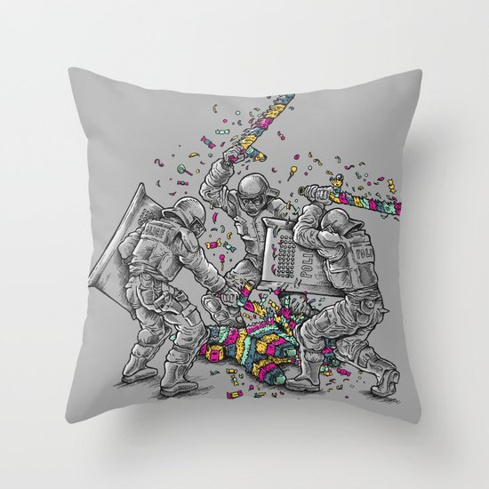 Police Brutality Throw Pillow