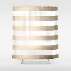gold and white striped shower curtain. Whitegold Shower Curtains Society6 Excellent Gold And White Striped Curtain Gallery  Best