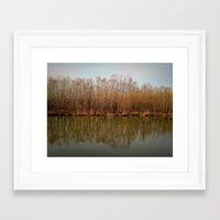 channel Framed Art Prints featuring channel by chases waterfalls