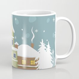 Winter town Coffee Mug