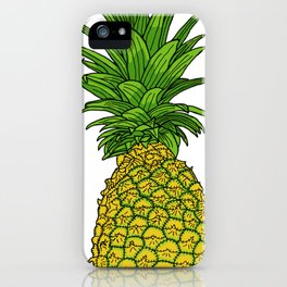 Pi the pineapple iPhone Case