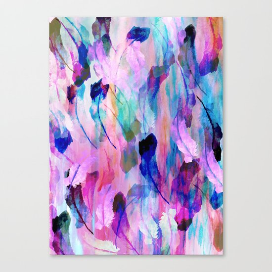 Freedom Feather Canvas Print