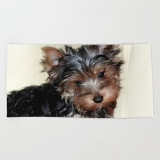 Yorkshire Terrier Beach Towel