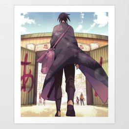Kawaii Naruto Shippuden v65 Art Print