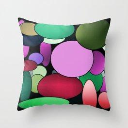 Colored Balloons Throw Pillow