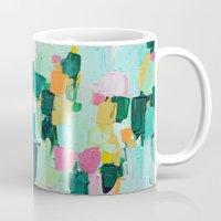 jenna kutcher Mugs featuring Arietta by Ann Marie Coolick