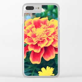 Orange Tainted Clear iPhone Case