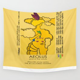AEOLUS (god of the winds) Wall Tapestry