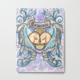 Horroroscopo Geminis Metal Print