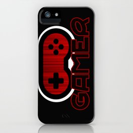 Red Gamer iPhone Case