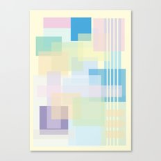 Shape series 1  Canvas Print