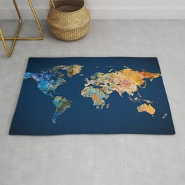 World Map 11 Rug
