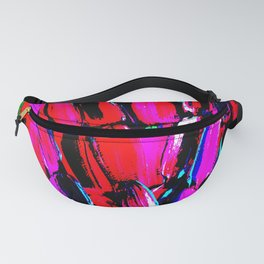 Dark Red Sugarcane Fanny Pack