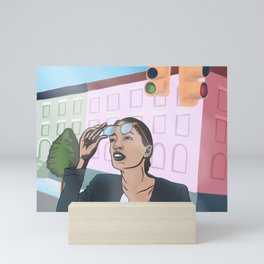 Progressive Hero Mini Art Print