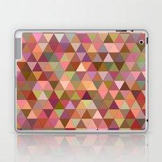 Happy pastel triangles Laptop & iPad Skin