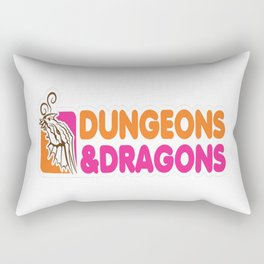 D&D-All-Nighter Rectangular Pillow