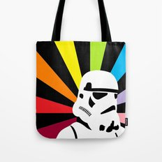After the Storm... Rainbow Trooper Tote Bag