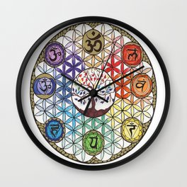 Combine Lives Wall Clock