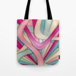 Laminated bubblegum Tote Bag