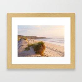 Beach & Headland Framed Art Print