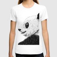 pandas T-shirts featuring pandas by barmalisiRTB