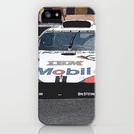 GT1 at Le Mans iPhone Case